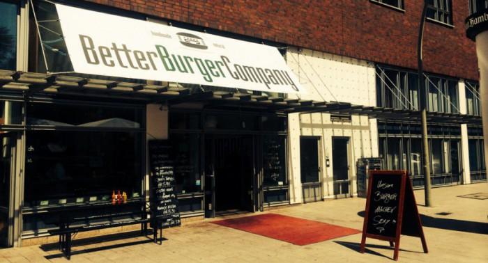Fassade der Better Burger Company