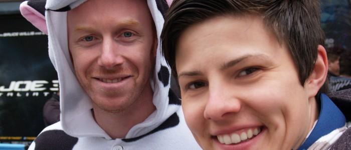 James (CIWF) und Diana