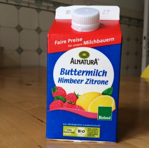 Alnatura Buttermilch Himbeer Zitrone - Verpackung