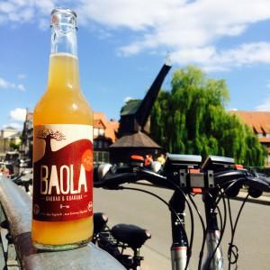 Baola mit Fahrrad