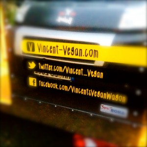 Social Links von Vincent Vegan