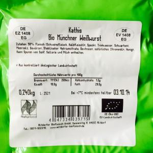 Weißwurst Etikett