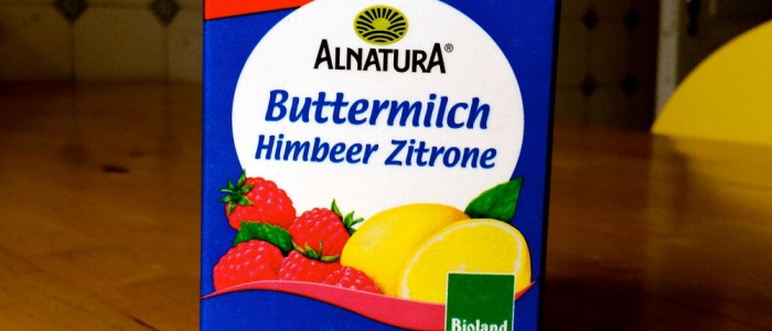 Alnatura Buttermilch Himbeer Zitrone