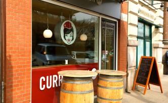 Außenansicht der CurryQueen Hamburg