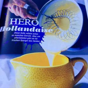 Hero Hollandaise - so wird die Sauce schnell gemacht