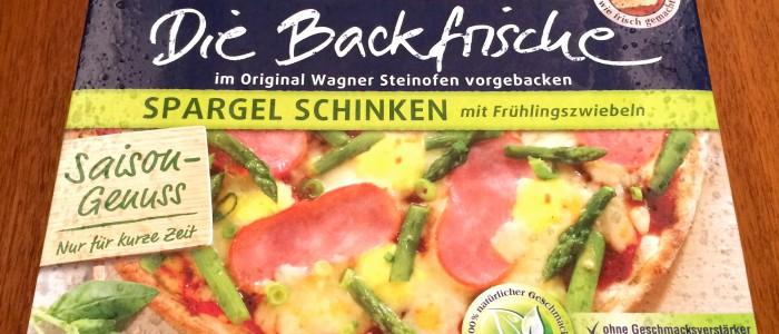 Pizza Spargel Schinken Verpackung