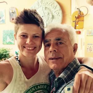 Francesco und ich beim Abschiedsselfie