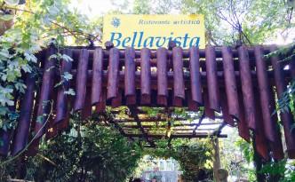 Eingang des Ristorante Bellavista