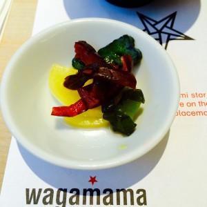 Wagamama: Schale mit saurem Gemüse
