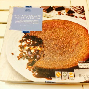 The Hot Chocolate Fudge Pudding - package