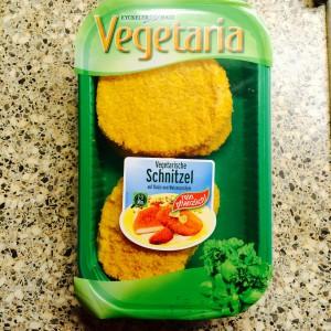 Vegetaria: 4 vegetarische Schnitzel in der grünen Verpackung