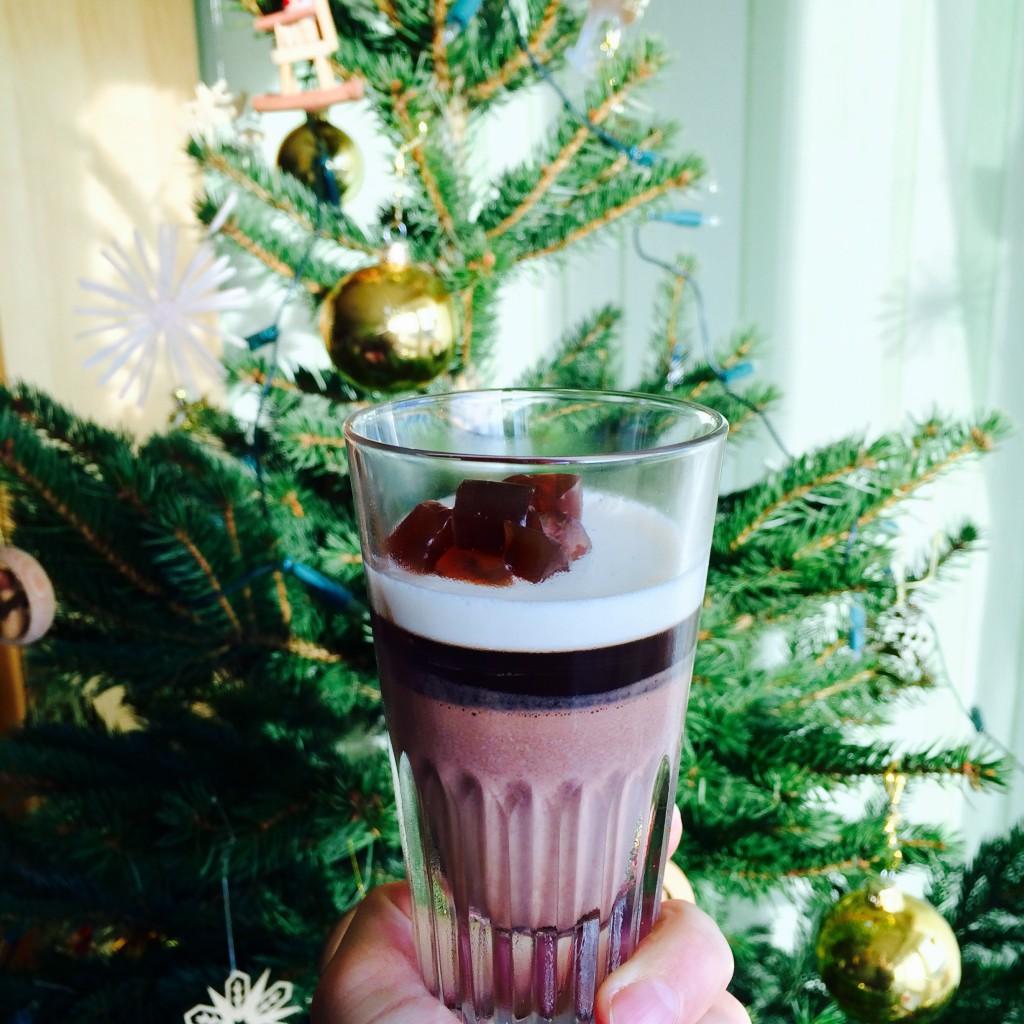Weihnachtsessen: Dessert Espresso Pana Cotta
