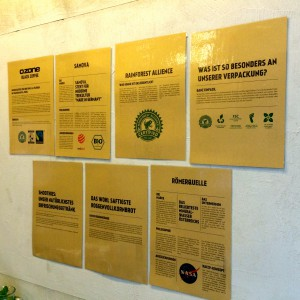 Zertifikate und Siegel der Produkte des Ozone Bielefeld
