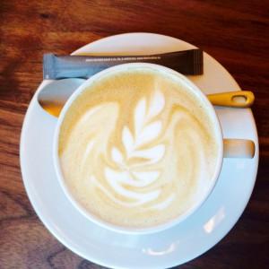 Cappuccino mit Baristaart