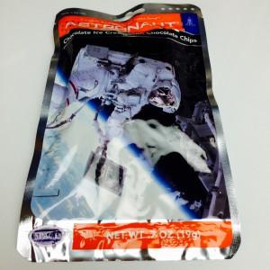 Verpackung der Astronautenkost (Vorderseite)