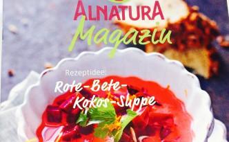 Ausschnitt des Covers mit Rote Beete Suppe abgebildet