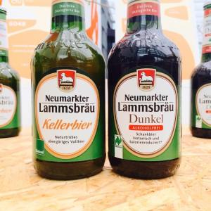 Kellerbier und alkoholfreies Dunkelbier von Lammsbräu