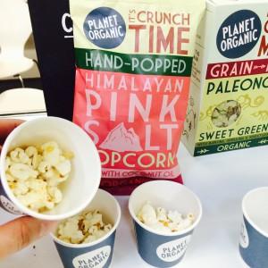 Bio-Popcorn von Planet Organic