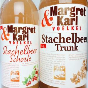 Voelkel Margret & Karl Schorle und Trunk, Stachelbeere