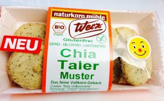 Werz Chia Taler in der Verpackung