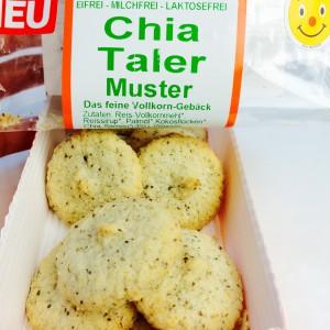 Werz Chia Taler in der Verpackung ohne das Plastik