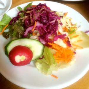 Gemischter Salatteller im Schanzenstern Hamburg