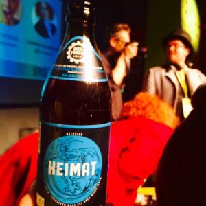 Heimat Bier Flasche
