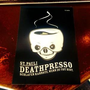 Deathpresso Postkarte