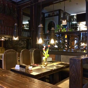 Interior der Teigtasche Hamburg