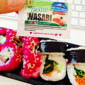 Meerrettich-Wasabi zum Sushi