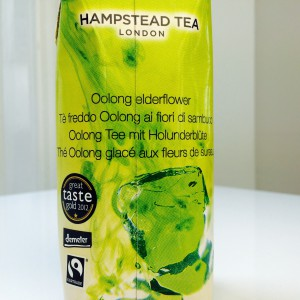 Rückseite des Hampstead Tea Elderflower