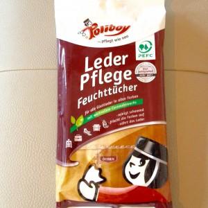 Verpackte Feuchttücher von Poliboy