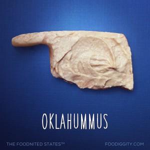 Oklahoma aus Hummus - Foodnited States of America