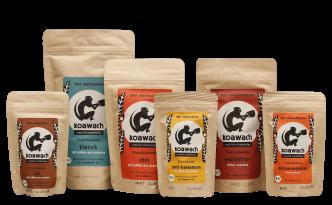 Produktshot: koawach Verpackungen
