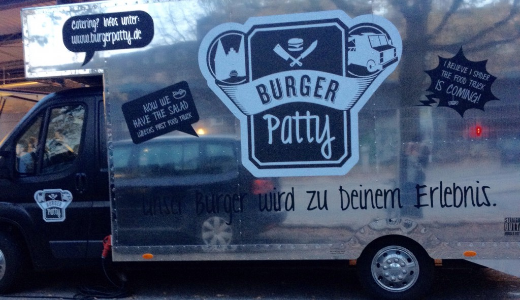 Food Truck Burger Patty