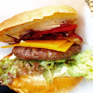 Burger im Profil