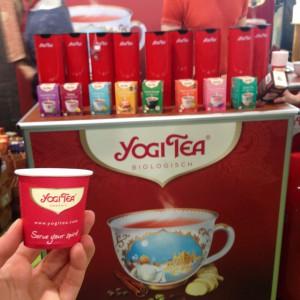 Yogi Tea zum Probieren beim Heldenmarkt 2016