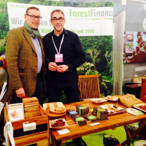 ForestFinance Stand beim Heldenmarkt 2016