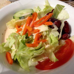 Gemischter Salat vom Griechen