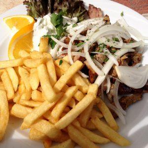 Gyrosteller vom Griechen - Walsrode Restaurant