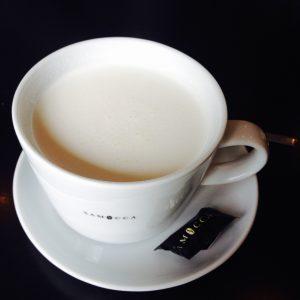 Samocca Tasse mit weißer Schokolade - Walsrode Restaurants