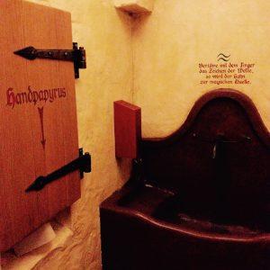 Waschbecken im Zauberkessel - Walsrode Restaurants