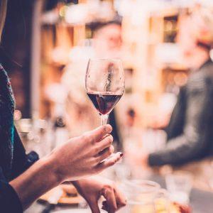 Rotweinglas - Routine neu erleben