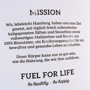 Missionstext des Lebeleicht Hamburg