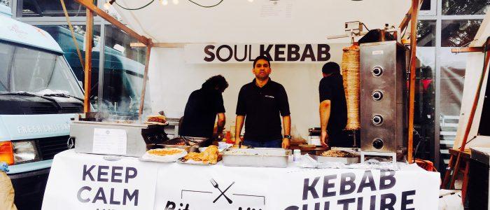 Soul Kebab Stand beim foodora Bites and Vibes Hamburg