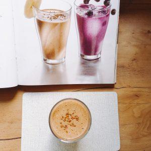 Haferflocken-Schoko-Shake - Vegan For Fit Challenge Einkaufsliste