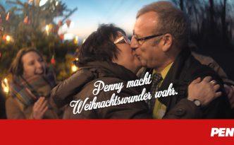 PENNY Weihnachtswunder - küssendes Paar - Titel
