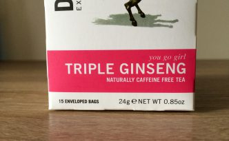 Teebox Front - Dr Stuart Triple Ginseng Tea