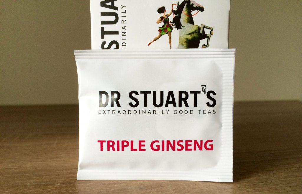 """Einzeln verpackter Teebeutel """"Triple Ginseng Tea"""""""