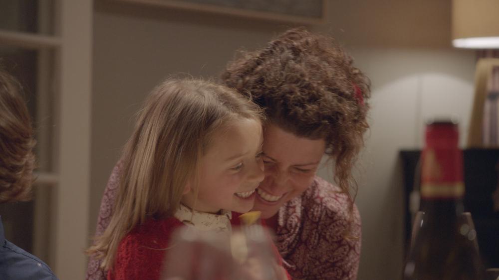 Mutter und Tochter lachen - Zeit schenken - EDEKA